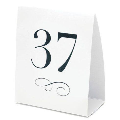 Asztalszámok 1-12