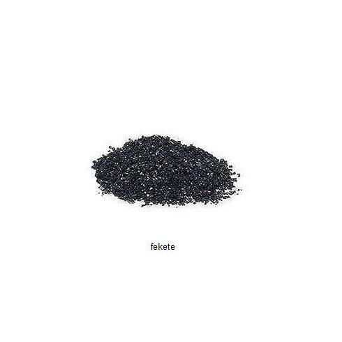 Kristálykvarc homok - fekete