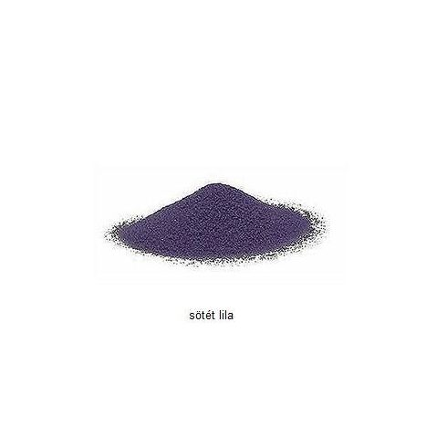 Kristálykvarc homok -  sötét lila