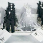 Menyasszonyi ruha - cukorkatartó