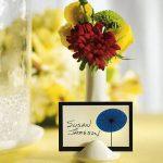 Mini váza ültetőkártya tartó és köszönetajándék