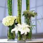 Szögletes váza - nagy
