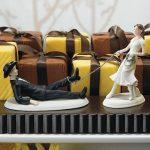 """""""Megvagy cowboy!"""" esküvői tortadísz"""