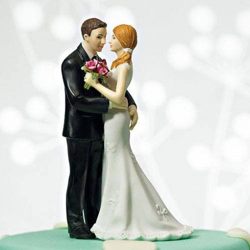 """""""A legjobb fogás"""" esküvői tortadísz"""