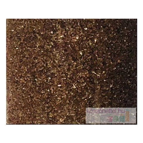 Csillámos tükörhomok BARNA -  260 ml (kb. 430 g)
