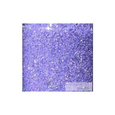 Csillámos tükörhomok IBOLYALILA -  260 ml (kb. 430 g)