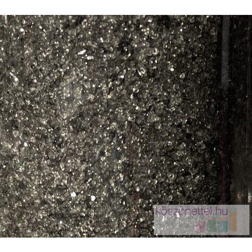 Csillámos tükörhomok FEKETE -  260 ml (kb. 430 g)